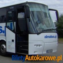 Almabus to jedna z popularnych polskich linii autokarowych.