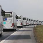 Kolumna autokarów Sindbad
