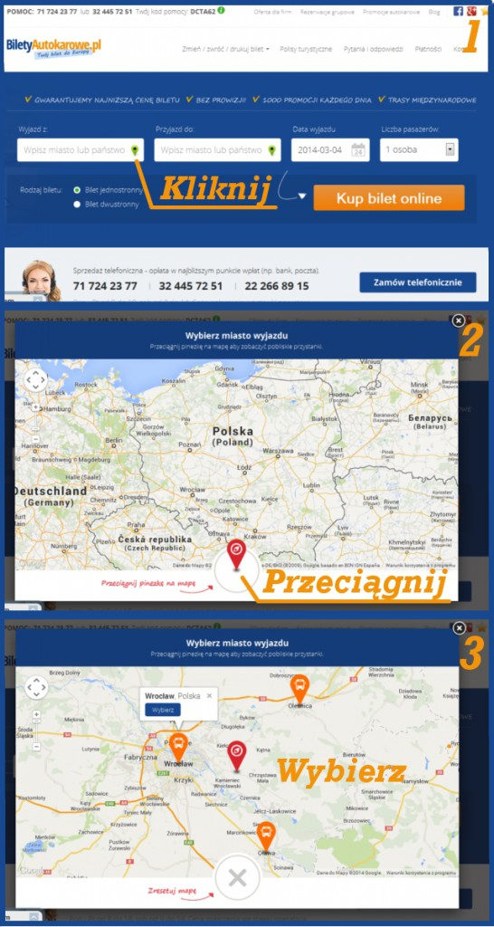 mapy przystankow biletyautokarowepl
