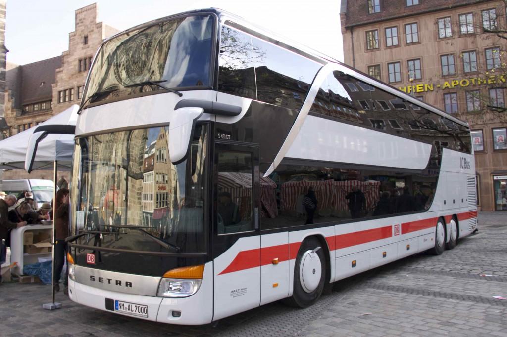 IC Bus Deutsche Bahn