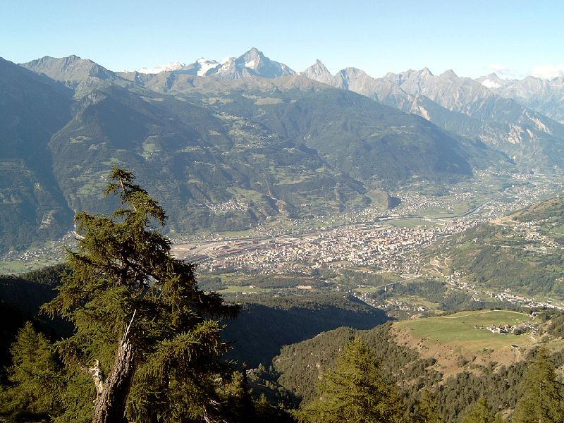 Aosta - Gerrit - Wikimedia Commons CC