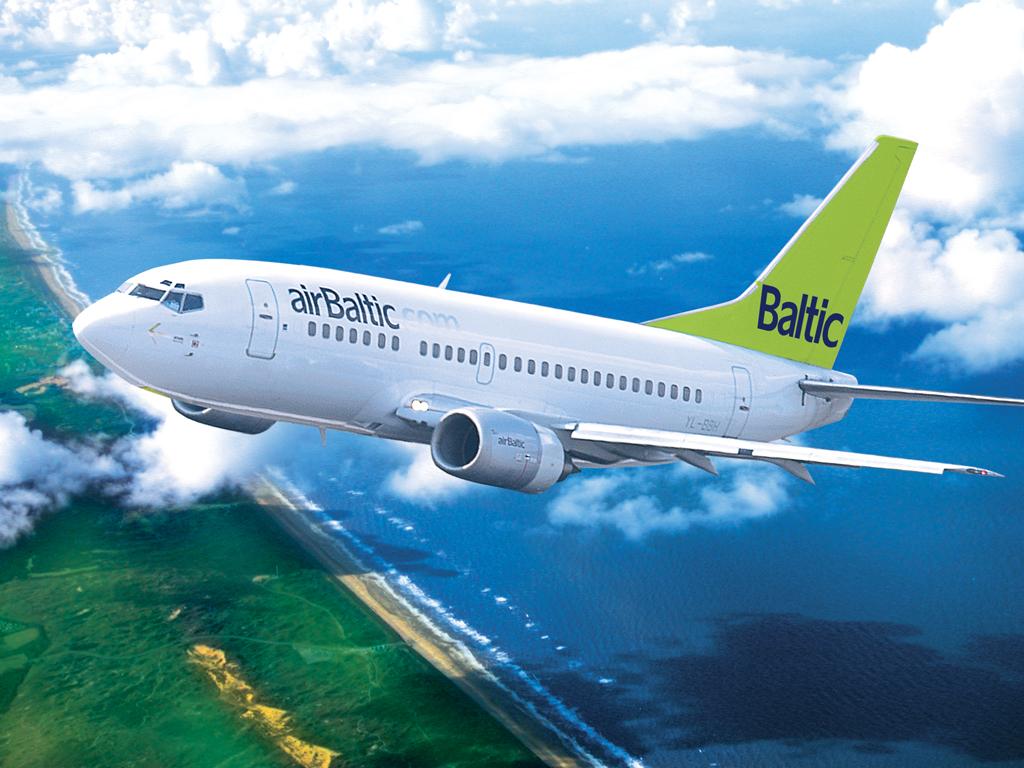 airbaltic samolot