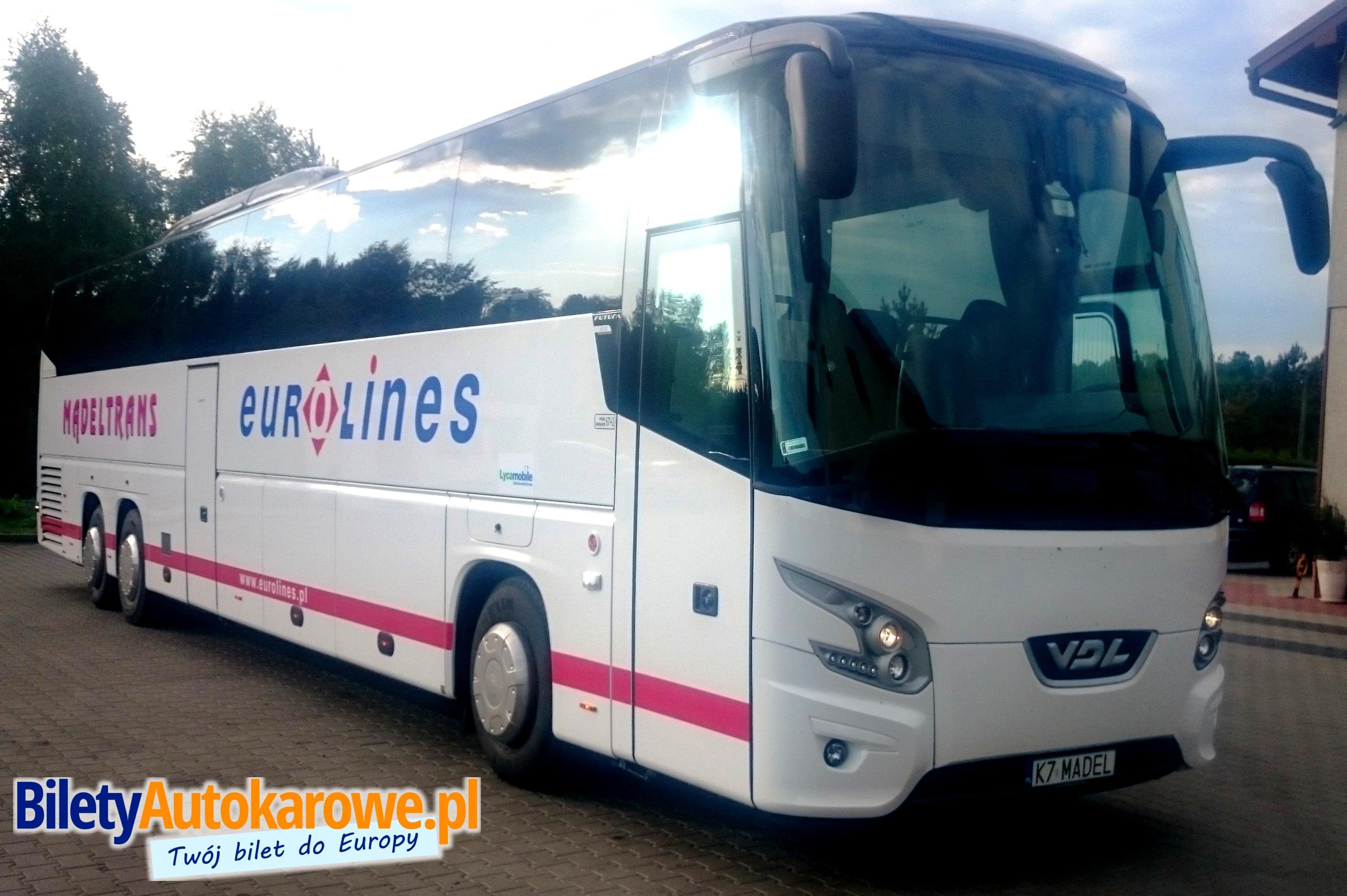 Autokar Eurolines Mądeltrans