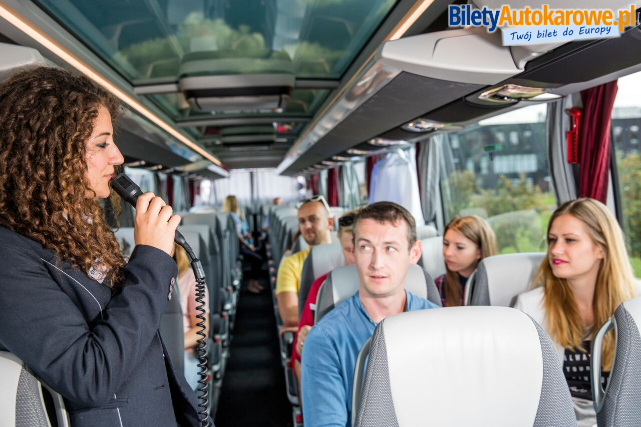 Sindbad Eurobus - w autokarze